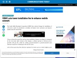 SDMC cuts tower installation fee to enhance mobile network