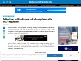 Sebi advises entities to ensure strict compliance with TRAI's regulations