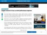 Singtel reverses Q1 loss as Airtel performance improves