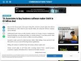 TA Associates to buy business software maker Unit4 in $2 billion deal