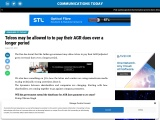 Telcos may be allowed to to pay their AGR dues over a longer period