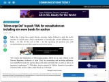 Telcos urge DoT to push TRAI for consultation on including mm wave bands for auction