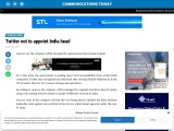 Twitter not to appoint India head