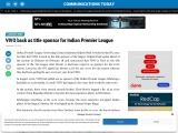 VIVO back as title sponsor for Indian Premier League