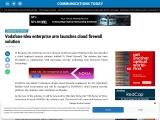 Vodafone Idea enterprise arm launches cloud firewall solution