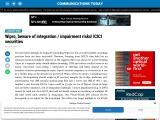 Wipro, beware of integration / impairment risks! ICICI securities
