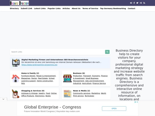 Company Directory for your small Business – Digital Marketing