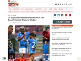 Super eagles players and their clubs | Complete Sports