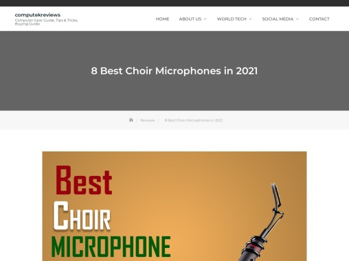 8 Best Choir Microphones in 2021 – Expert Comparision!