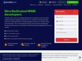 Hire MSBI Developer | Microsoft MSBI Development Company