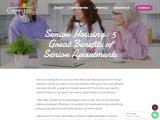 Senior housing: 5 Great benefits of senior apartments