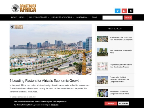 6 Leading Factors for Africa's Economic Growth