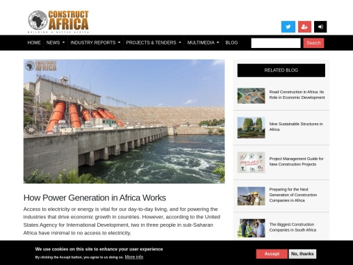 How Power Generation in Africa Works