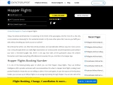 Booking Flights Through Hopper