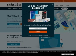 Contactsdirect Affiliate Program screenshot