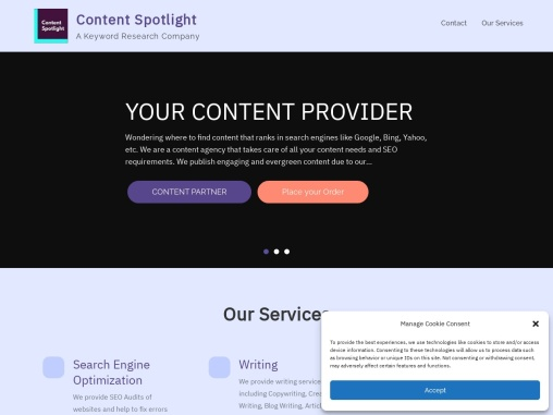 Content Spotlight SEO and Marketing Agency