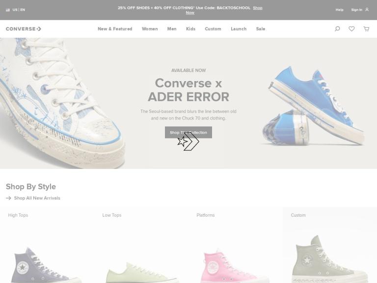 Converse screenshot