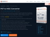 How to convert PST to MSG file format