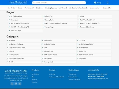 Buy Misting System Kits Dubai at Best Price