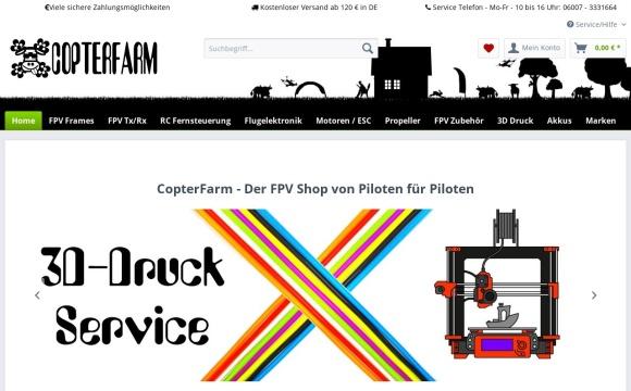CopterFarm - Der FPV Shop von Piloten für Piloten