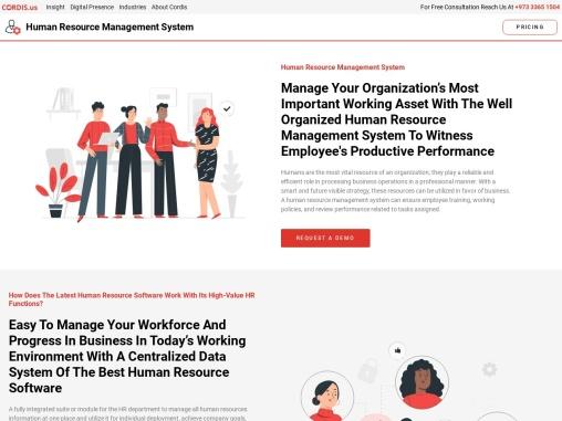 human resource management information system, Bahrain