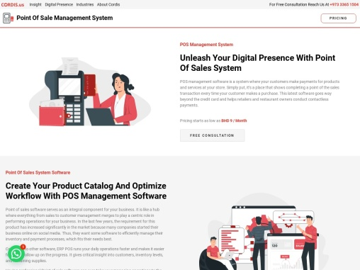 POS software |  Point of Sales System | Cordis Bahrain