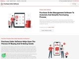 purchase order system, Bahrain