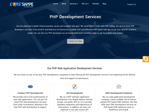 Best PHP Development Services In India And USA