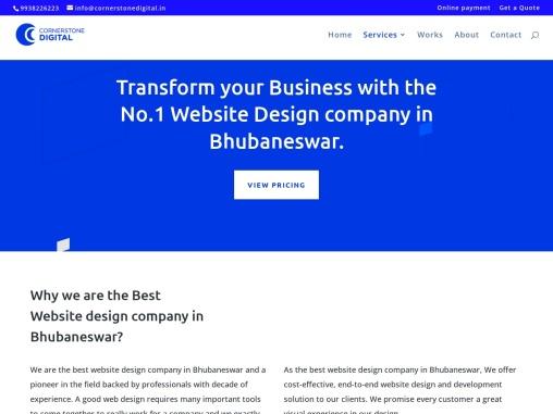 Website Design Company in Bhubaneswar