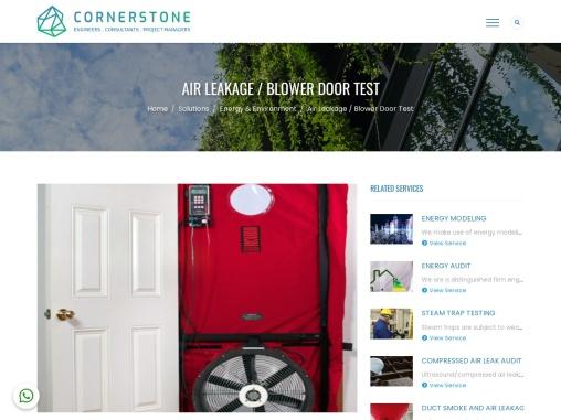 Blower Door Test Solutions in Dubai