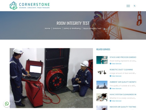 Room Integrity Test Services in UAE