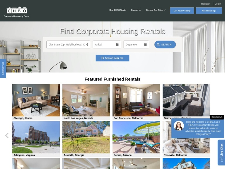 Corporate Housing By Owner Coupon Codes & Promo codes
