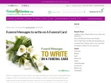Funeral Card Messages for Family