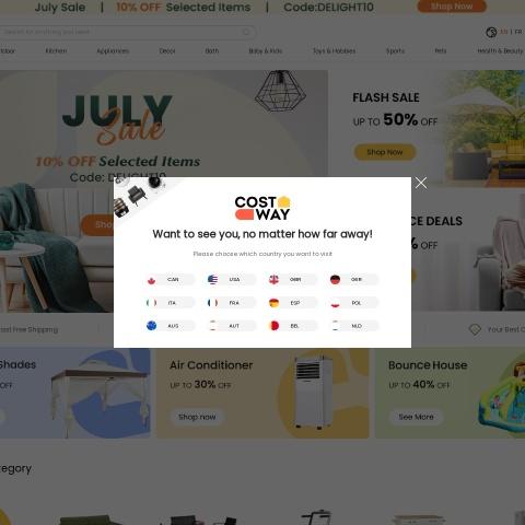 Costway.ca Coupon Codes, Costway.ca coupon, Costway.ca discount code, Costway.ca promo code, Costway.ca special offers, Costway.ca discount coupon, Costway.ca deals