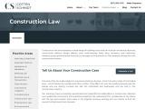 Construction Law   Cotten Schmidt