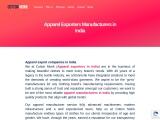 Apparel exporters in india | Apparel