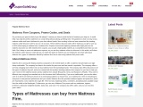 Mattress Firm Coupons, Promo Codes, and Deals