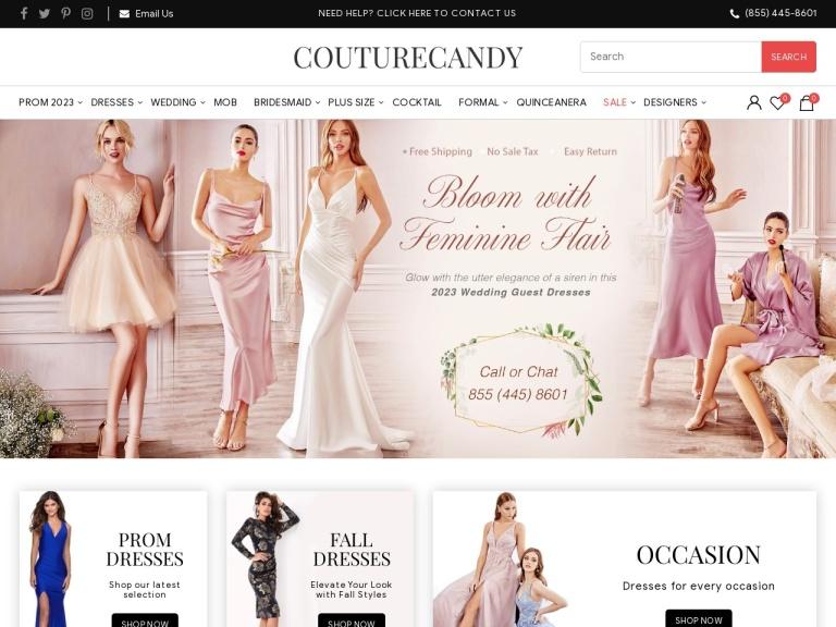 Couturecandy.com Coupon Codes & Promo codes