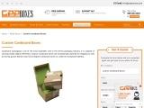 Custom Cardboard Boxes || Cardboard Storage Boxes