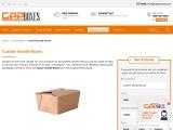 Cardboard Noodle Boxes | Christmas Noodle Boxes