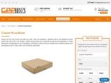 Custom Pizza Boxes   White Pizza Boxes