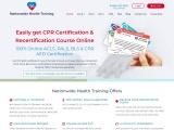 ACLS BLS Certification Online   BLS ACLS PALS Certification Online