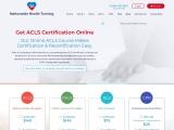 ACLS Renewal Class | ACLS Recertification Online | AHA ACLS Recert