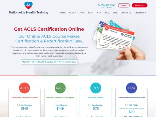 ACLS Renewal Class   ACLS Recertification Online   AHA ACLS Recert