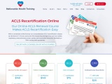 ACLS Online Recertification | ACLS Recertification Online AHA Approved
