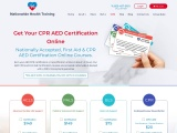 CPR AED Certification Online | CPR AED Certification | CPR First Aid Certification