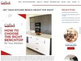 Kitchen Bench Heights – Craftbuilt Kitchens