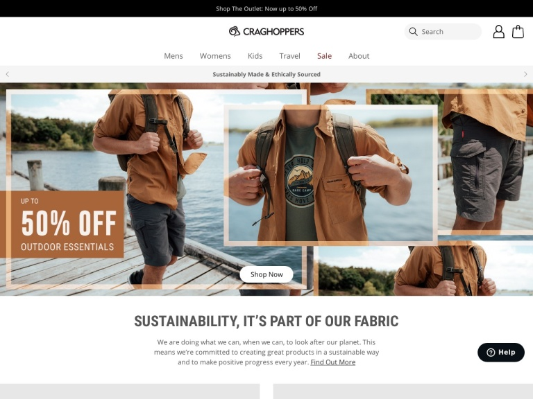 Craghoppers Us Coupon Codes & Promo codes