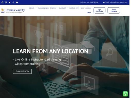 Cranes Varsity where Technolgy Meet Excellence