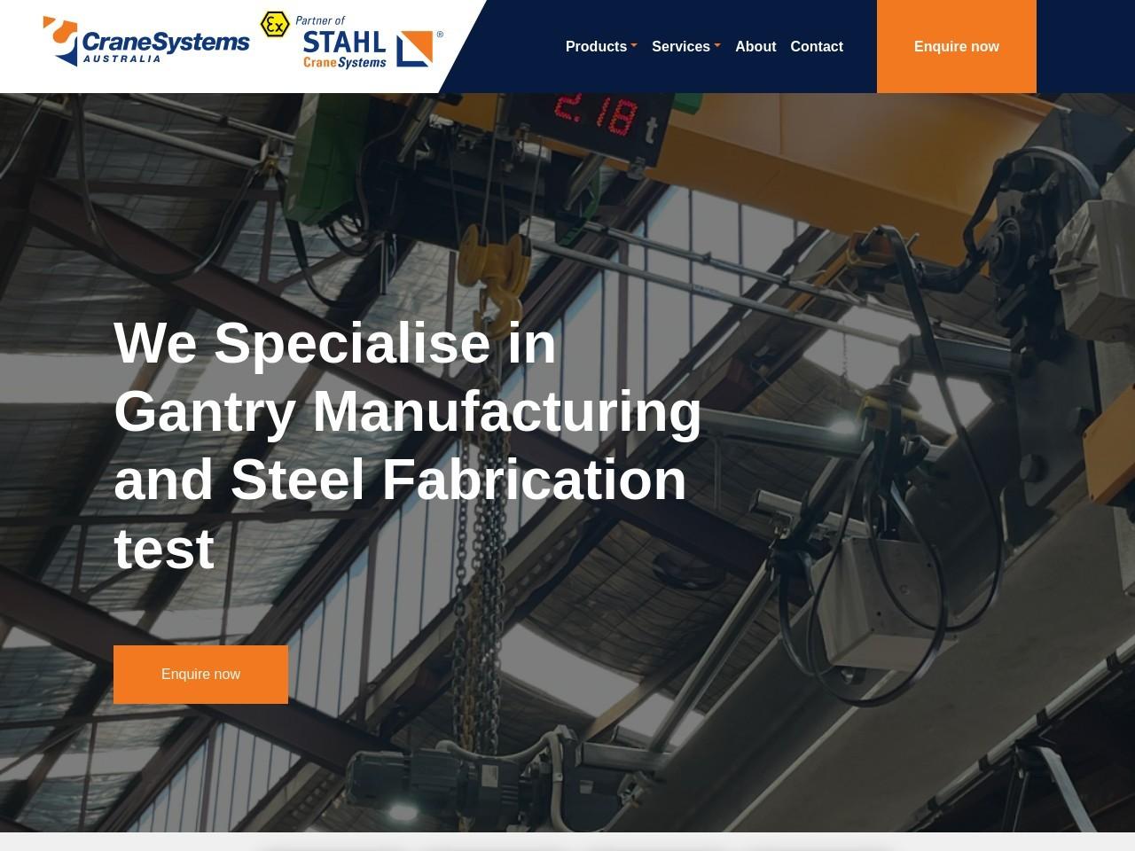 STAHL ST Chain Hoist – Crane Systems